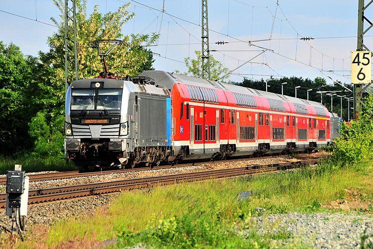 "Siemens 21775 DB Regio ""193 8042"" Train, Railway"