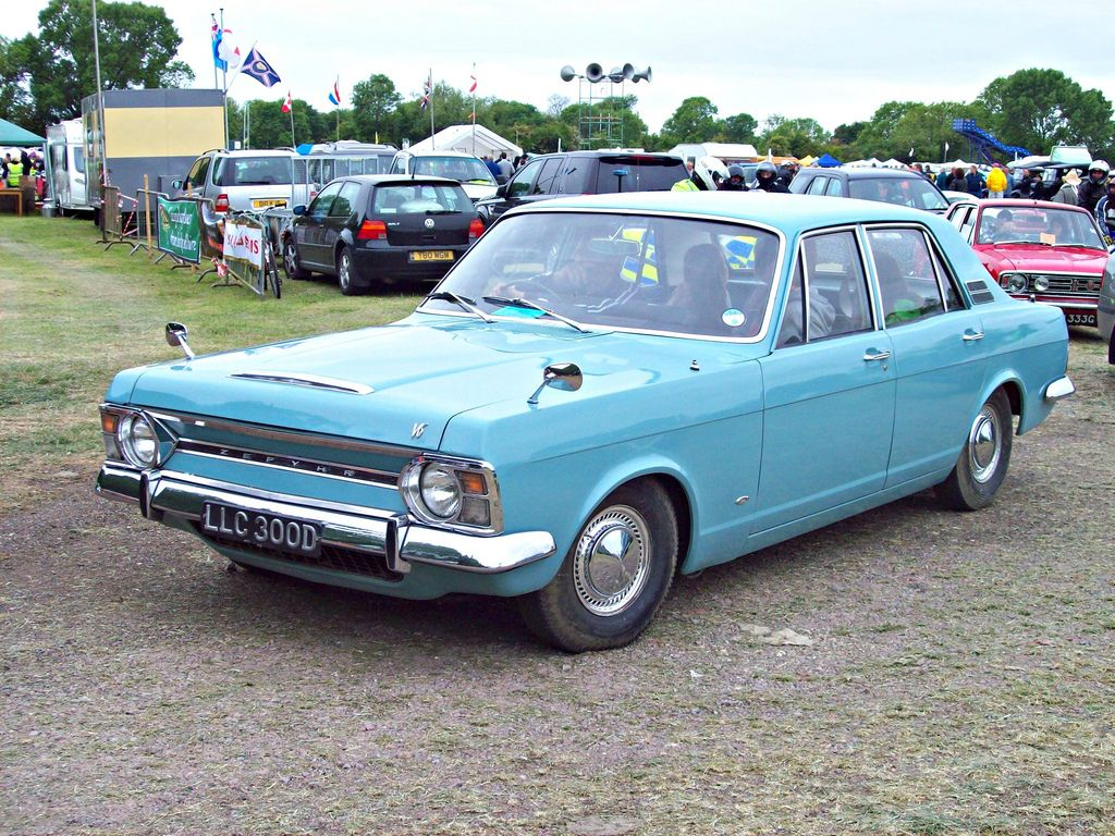 Ford Zodiac Mkiv Side Ford Zodiac Mkiv In 1966 Ford Swept Aside