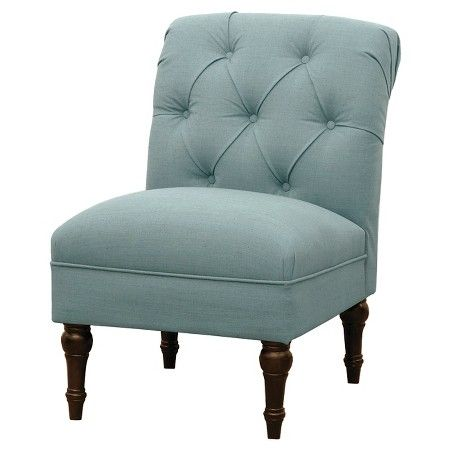 Best Tufted Rollback Slipper Chair Gray Threshold™ Target 400 x 300