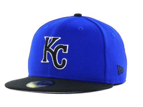 c54ba736 Kansas City Royals New Era MLB Diamond League 59FIFTY Cap   Hats ...