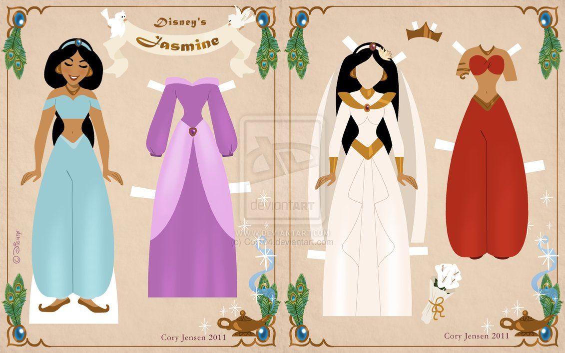 As Princesas Disney Para Voce Imprimir Em Cartolina Recortar E Vestir Com Roupinhas Chiquerrimas Bonecos De Papel Bonecas De Papel Vintage Bonecas