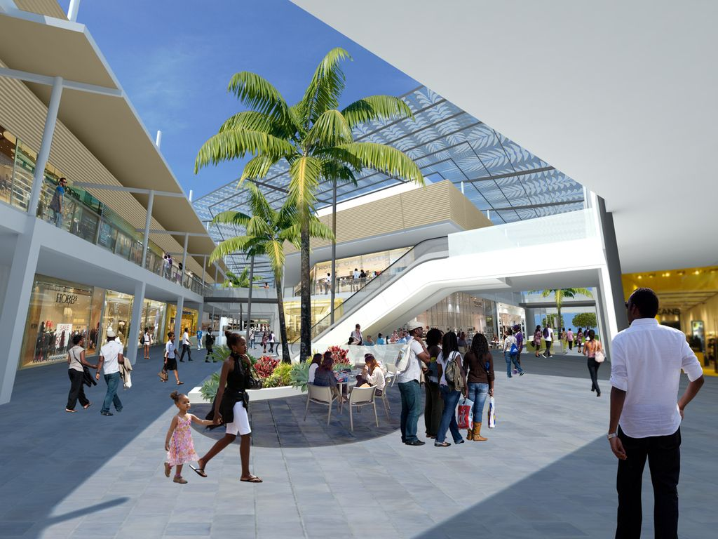 Garden City Mall Along Nairobi S Thika Road Kenya Kenya
