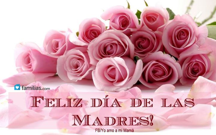 Familias Birthday Flowers Beautiful Pink Roses Happy Mothers Day Images