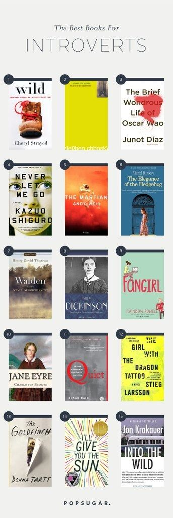 If you're an introvert, one of the best ways to recharge is with a good book. These are the best reads for introverted bookworms.
