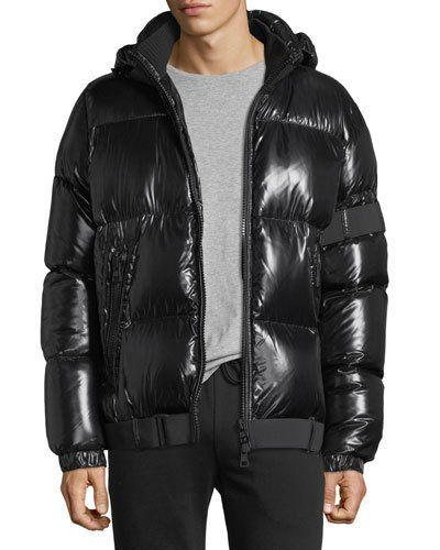 7070e7e891c7 MONCLER BROOK SHINY PUFFER JACKET.  moncler  cloth
