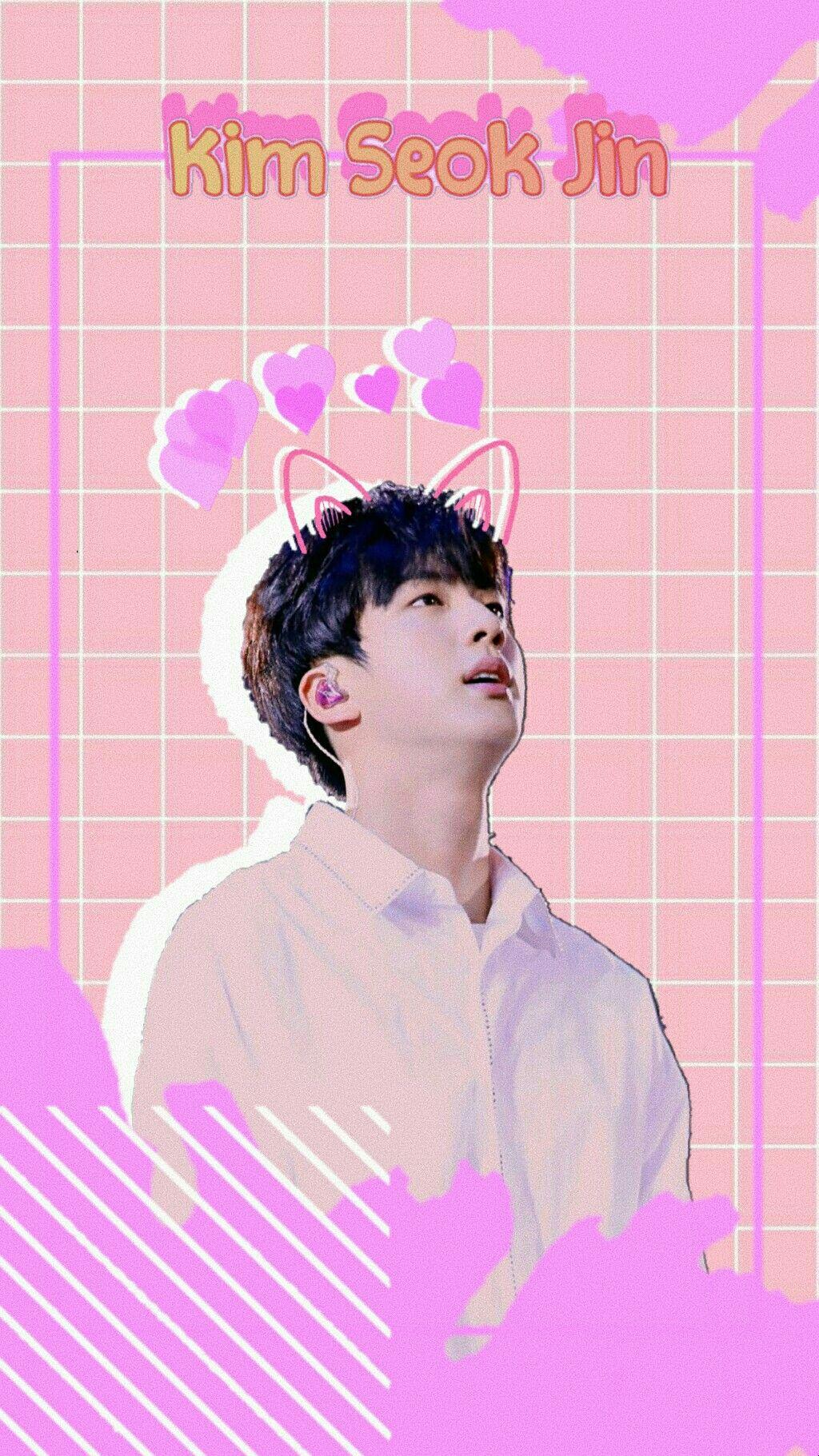 Jin Bts Bts Jin Seokjin Loockschreen Wallpaper