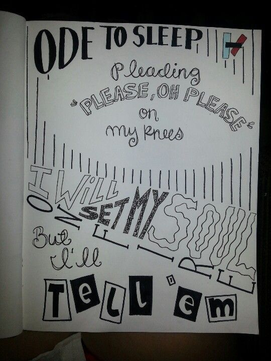 Kitchen Sink Lyrics Drawing twenty one pilots drawings - google search   projects to try