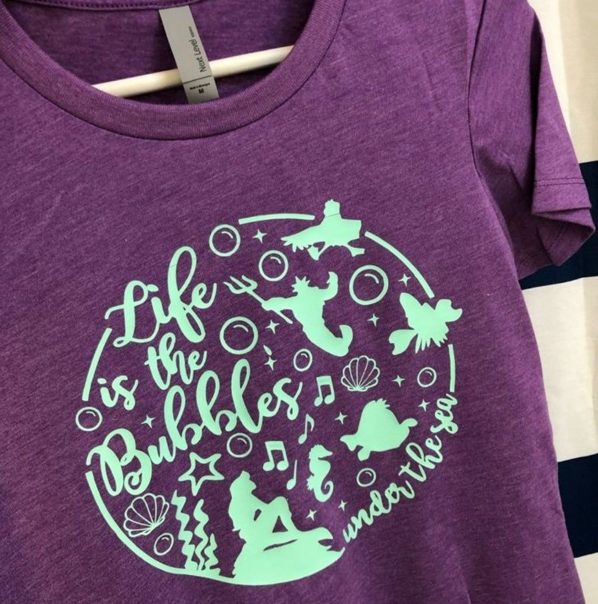 The Little Mermaid Ariel Shirt Size M Handmade Shirts Disney Outfits Disney Shirts