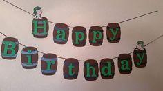 El Chavo del Ocho birthday banner por LiCrafty en Etsy