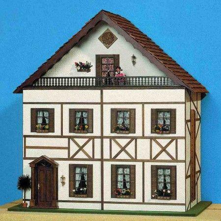 bauanleitung s ddeutsches fachwerkhaus einfacher. Black Bedroom Furniture Sets. Home Design Ideas