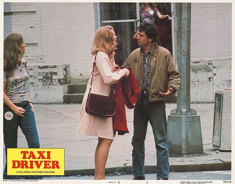 Lobby Card from the film Taxi Driver