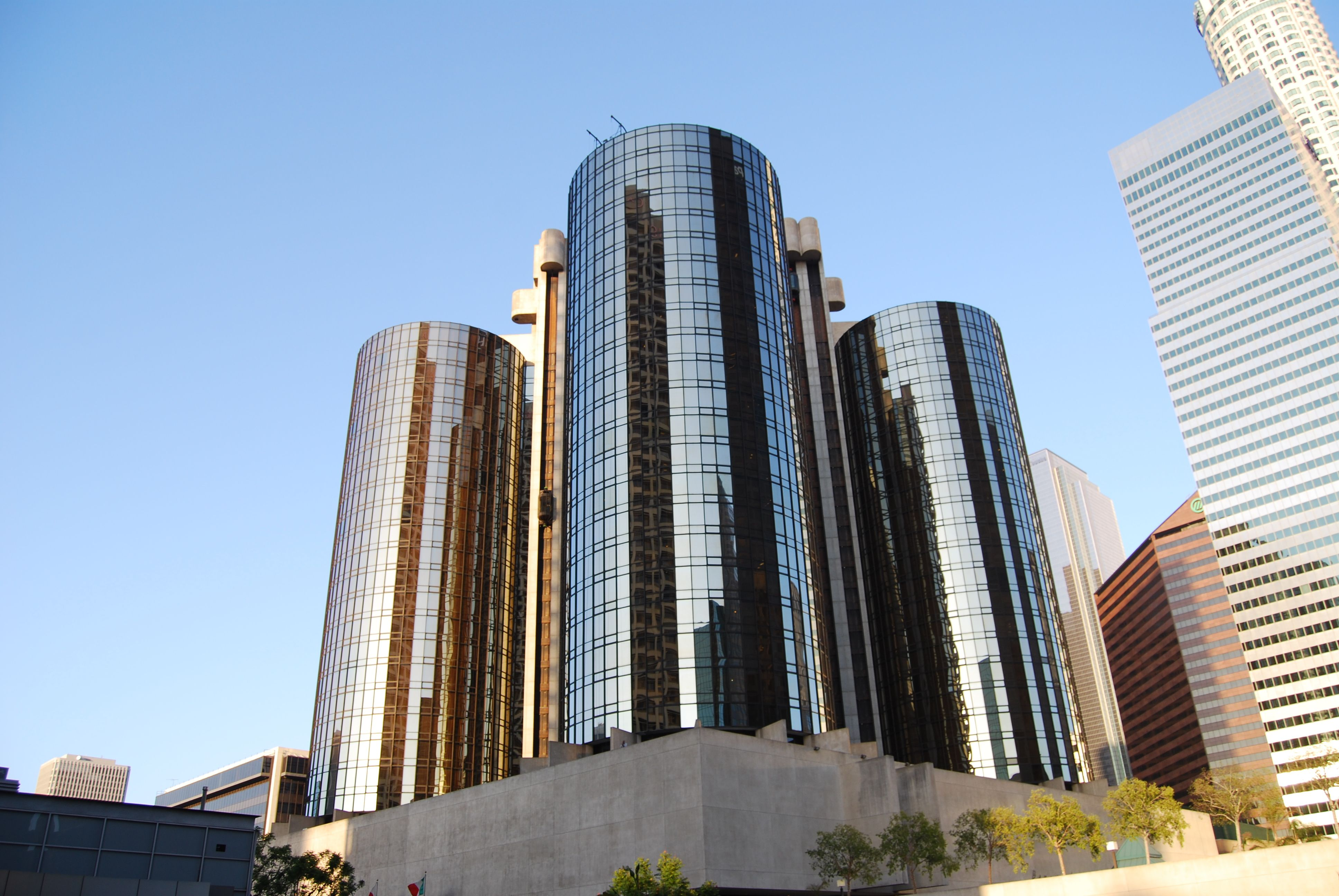Press Releases Round Building Los Angeles Hotels Downtown Los Angeles