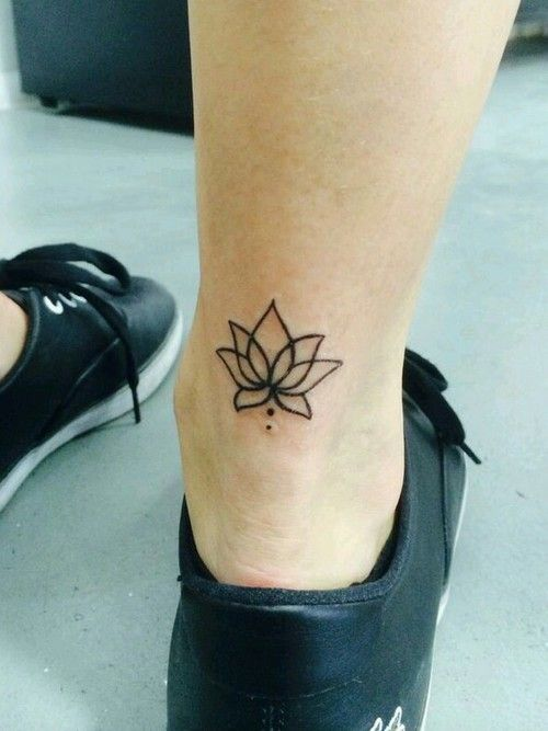 small lotus tattoo google search t a t t o o pinterest lotusbl te tattoo. Black Bedroom Furniture Sets. Home Design Ideas