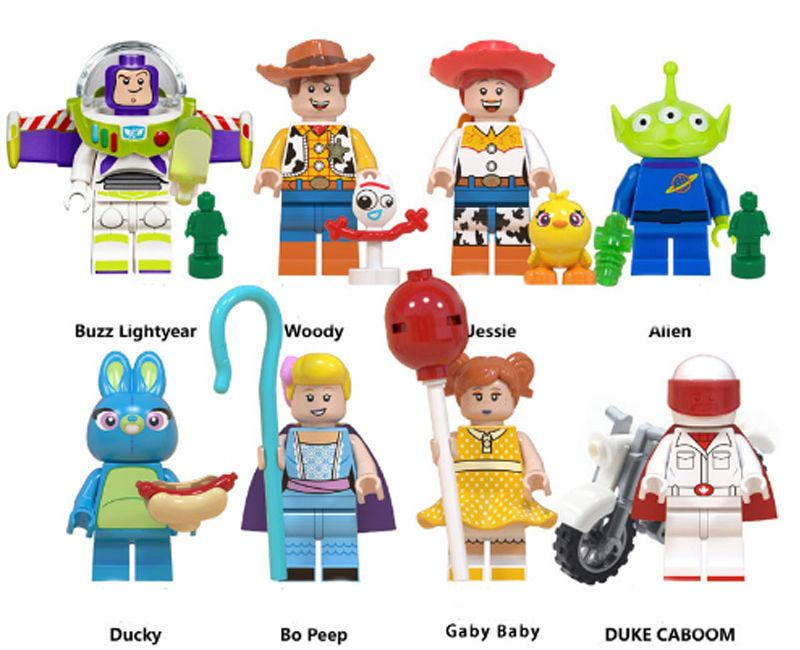 Toy Story 4 Woody And His Friends Lego Minifugures Disney Pixar Hot Toys 2019 Lego For Kids Lego Toy Story Lego Minifigures