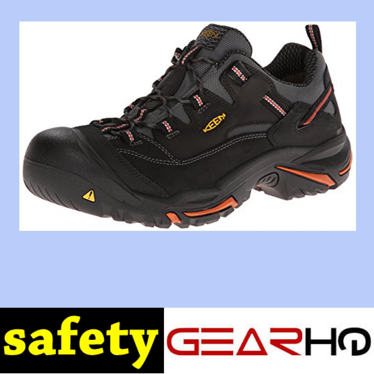 ddaf59444c KEEN Utility Men s Braddock Low Steel-Toe Work Boot