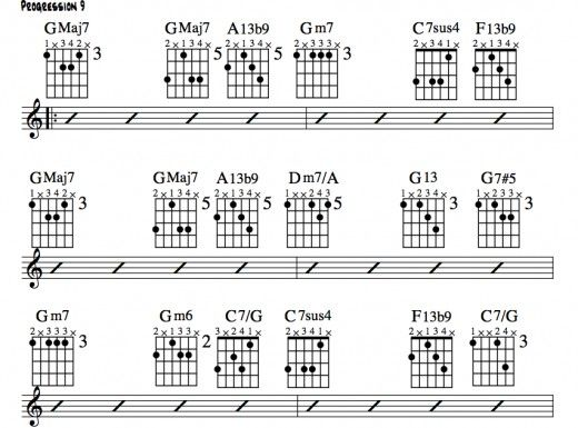 Further reharmonization of the twelve bar blues format using