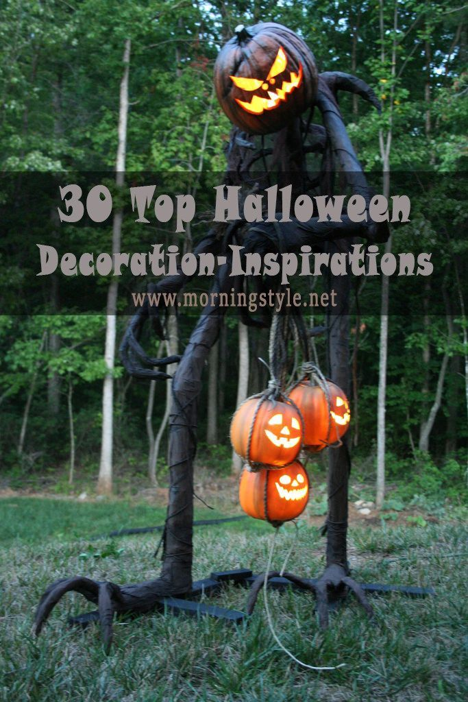 30 Top Halloween Decoration-Inspirations This Year Morning Style