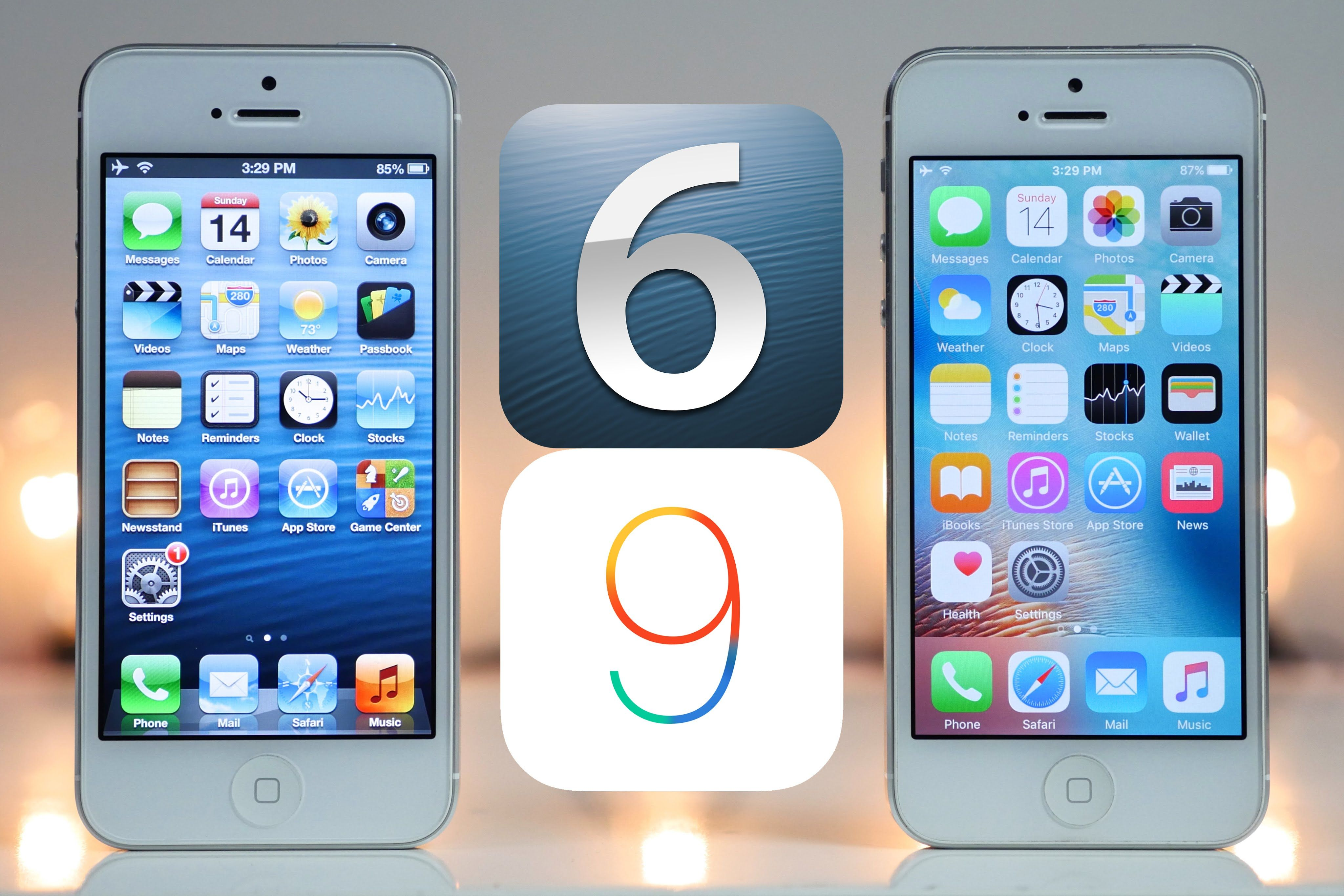 iOS 6 vs iOS 9 Is Planned Obsolescence a Myth? Iphone