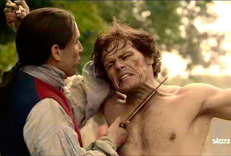 Sam Heughan as Jamie Fraser in Outlander | Outlander | Pinterest