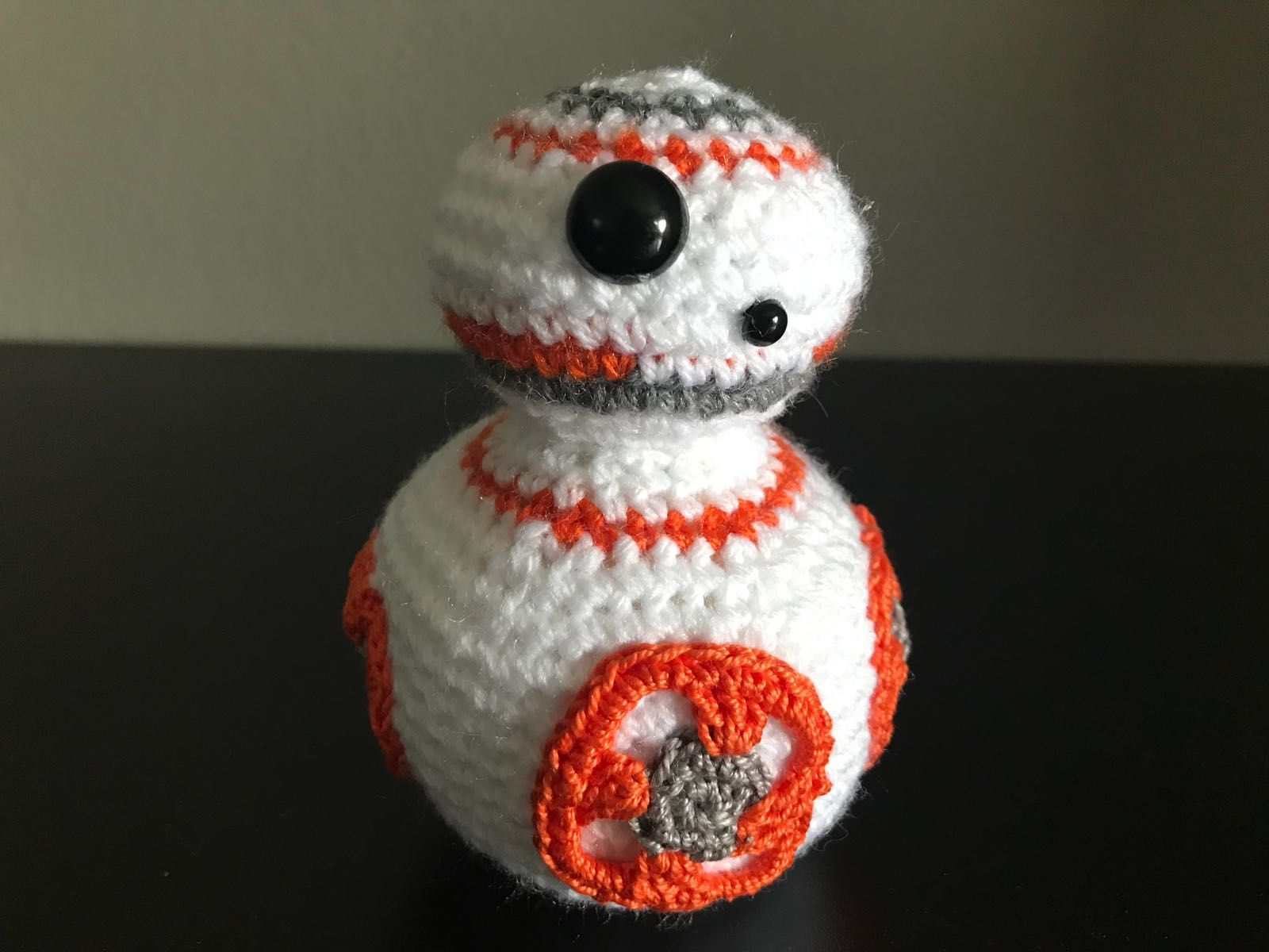 Star Wars BB-8 schema gratis tutorial uncinetto crochet amigurumi ...
