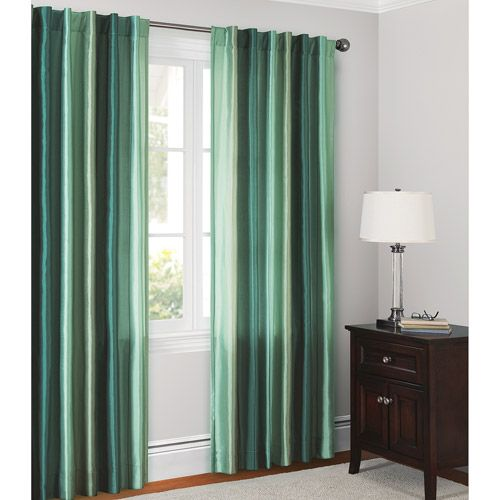 Canopy Ombre Faux Silk Drapery Panel & Canopy Ombre Faux Silk Drapery Panel | Drapery panels and Canopy