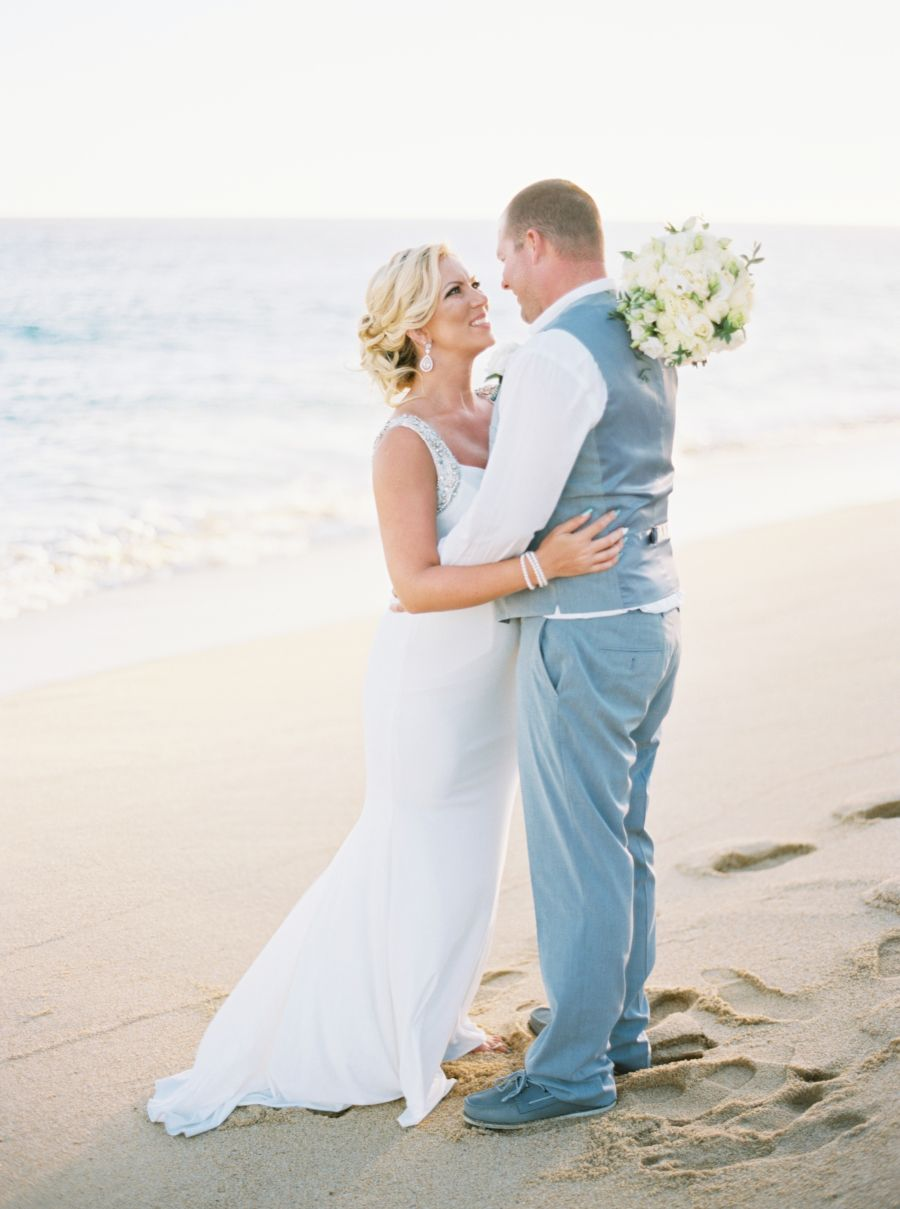 Escape reality with this romantic beach wedding simply by tamara