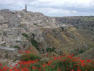 Matera, Italy - stay in a cave hotel