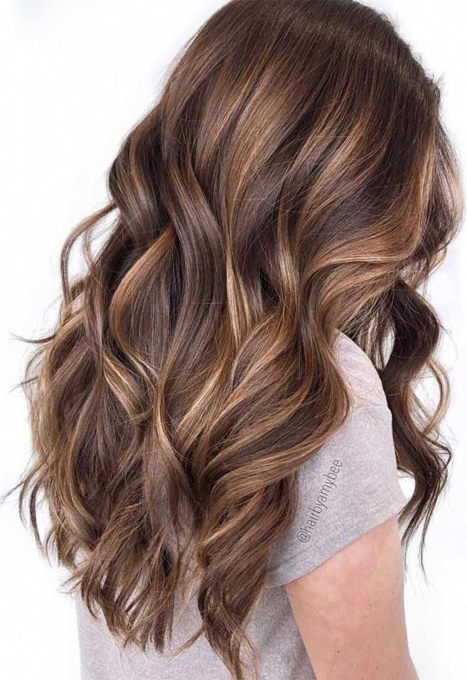 49 Beautiful Light Brown Hair Color To Try For A New Look Gorgeous Balayage Hair Color Ideas - brown Balayage Highlights,Beachy balayage hair color #balayage #blondebalayage #hairpainting #hairpainters #bronde #brondebalayage #highlights #ombrehair #brownhairbalayage