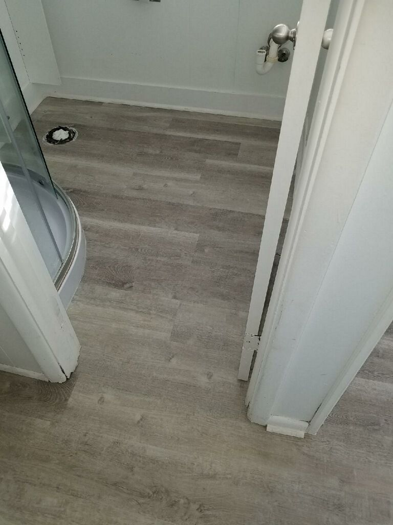 0d368fae144f Provenza LVT Uptown Chic installed in Montauk. Color is  Catwalk ...