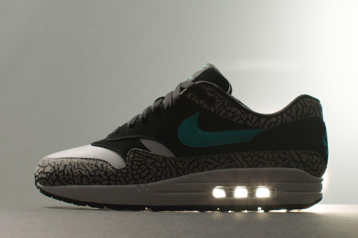Nike Air Max 1 Atmos Elephant | Mens nike shoes, Running