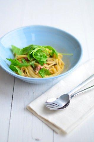 Foodblogswap: Spaghetti Carbonara - Uit Paulines Keuken