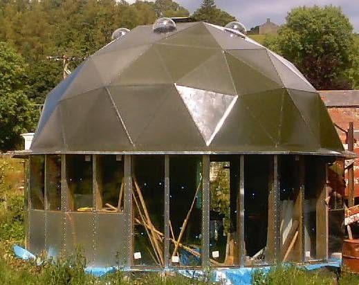 Aquaponics Greenhouse Buildings Green Houses