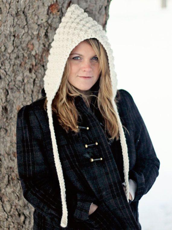 HOOD CROCHET PATTERN Hoodie Hat The Denver | Hoods, Crochet and Free ...