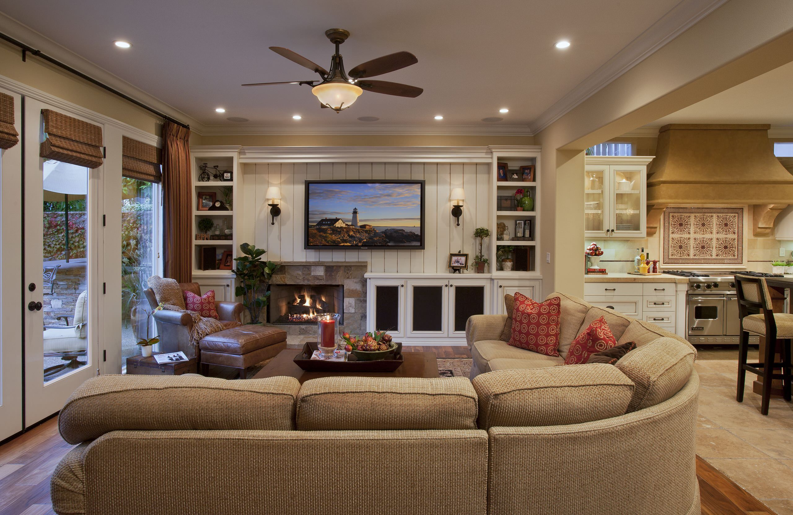 See 18 Beautiful Examples Of Family Room Concepts:  Https://www.homeawakening.com/18 Beautiful Examples Of Family Room Concepts/
