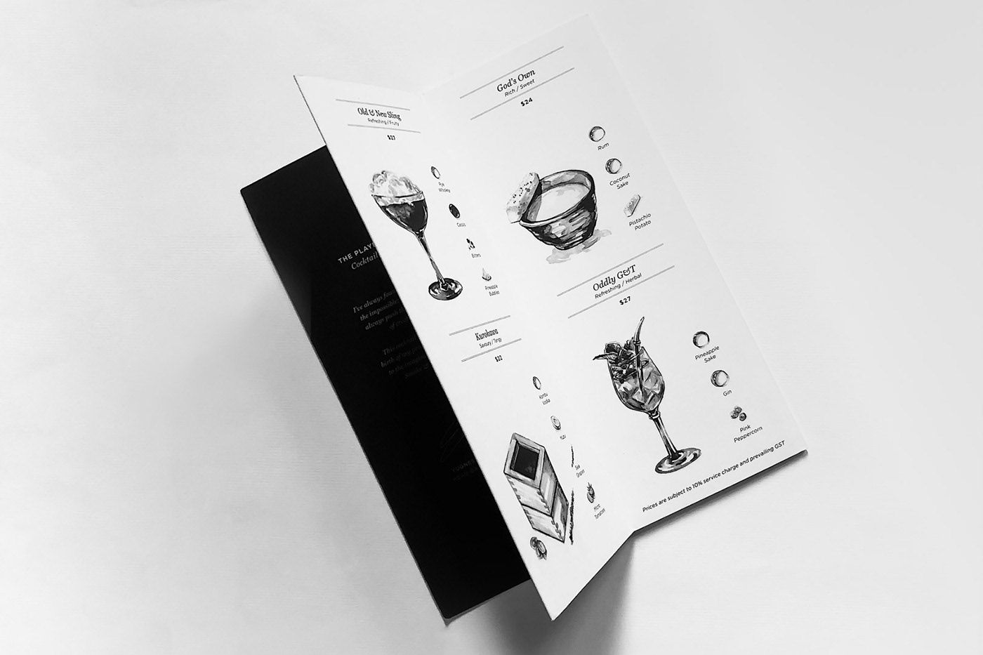 查看這個 Behance 專案 Smoke Mirrors Https Www Behance Net Gallery 71767429 Smoke Mirrors Smoke Mirror Menu Inspiration