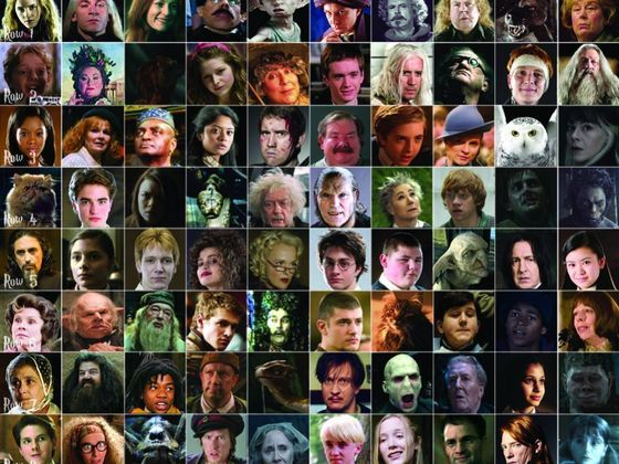 Can You Name All Of These Harry Potter Characters Harry Potter Characters Potter Harry