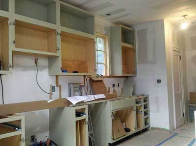Kitchen Cabinet Makeover Reveal  Kitchens Simple Upper Kitchen Cabinets Decorating Inspiration