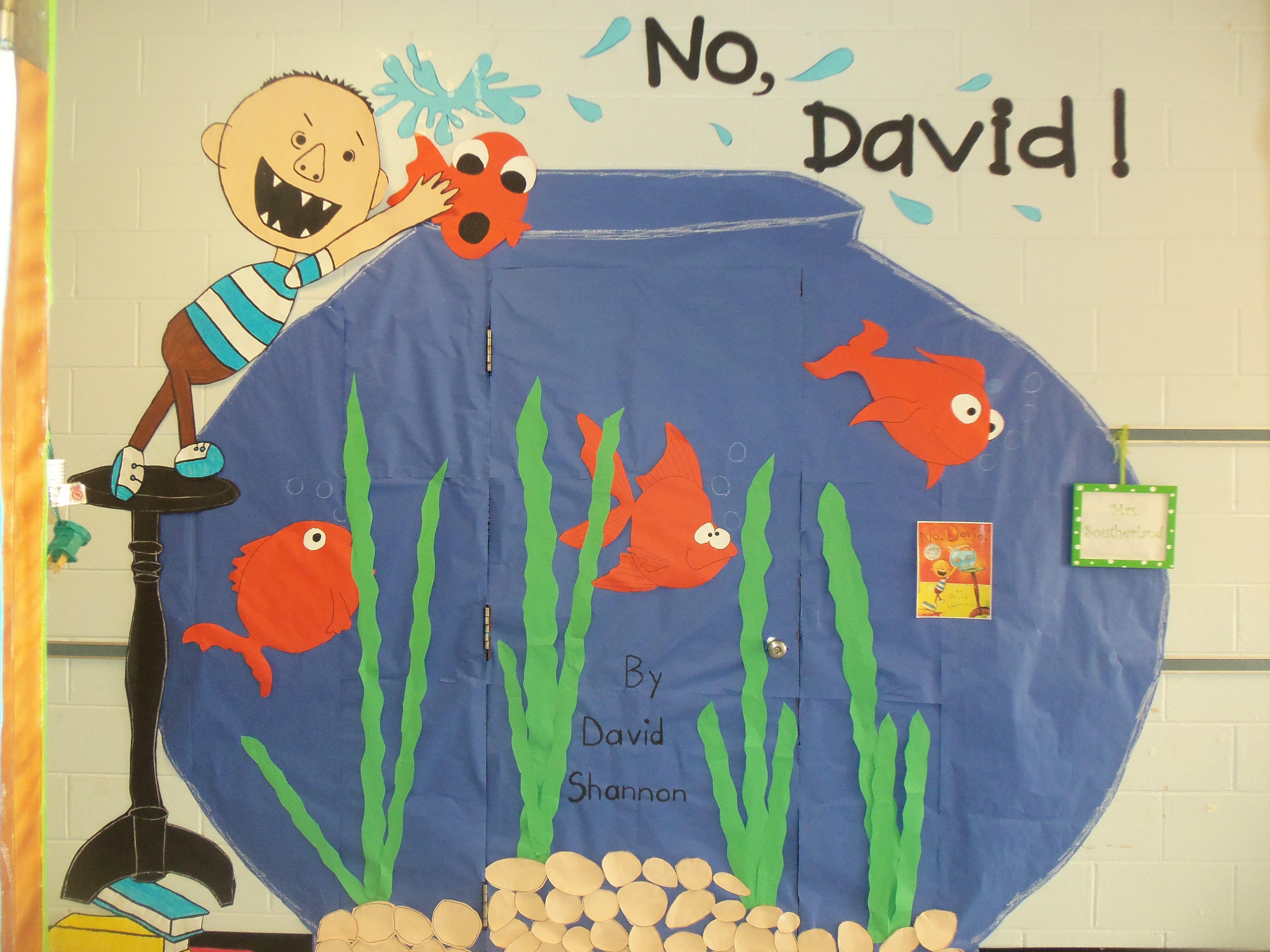 No David! & No David! | Door Decorating | Pinterest | Bulletin board and Door ... pezcame.com