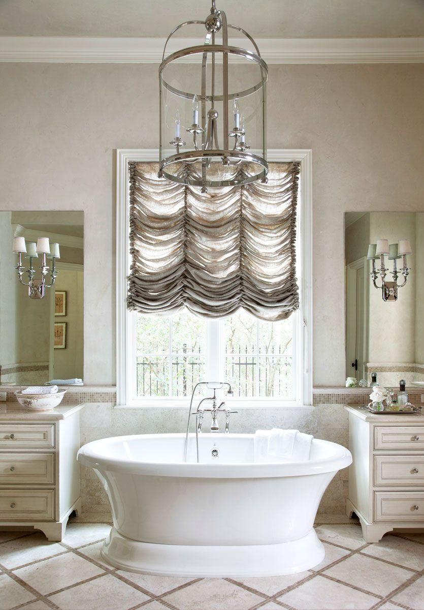Design Ideas for Neutral Color Master Bathrooms | Traditional Home ...