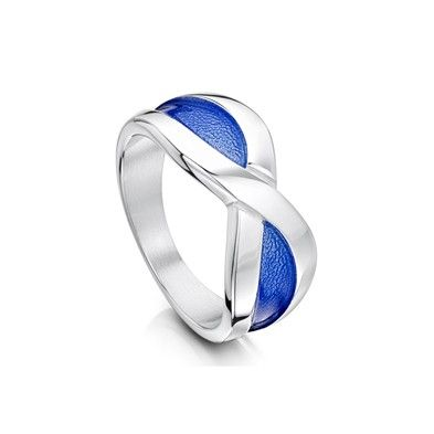 Sheila Fleet Saltire ring designed made in Orkney I want one