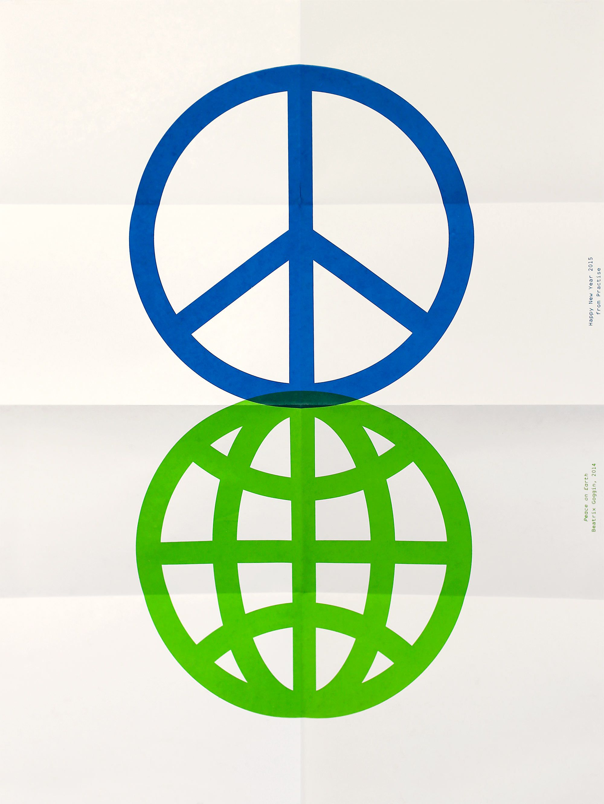Peace On Earth Silkscreen Print Peace Pinterest Design Posters