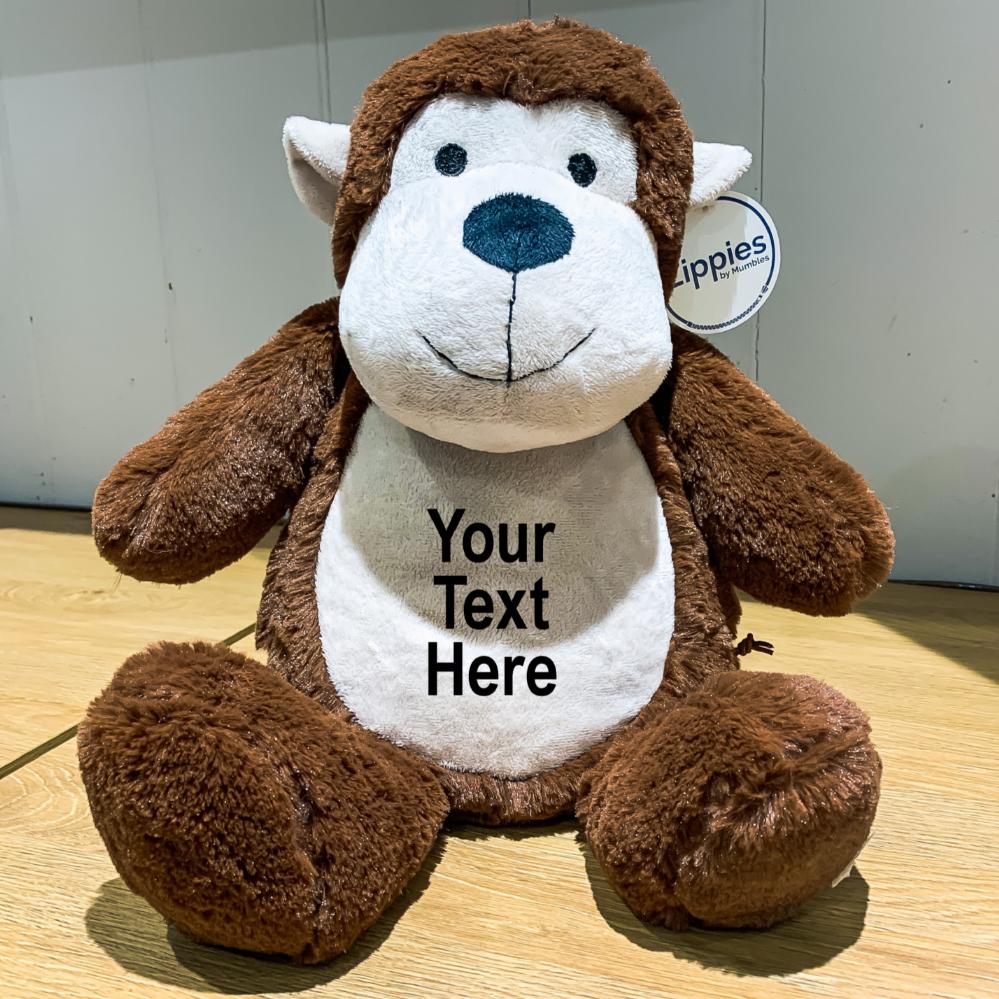 Personalised Monkey Teddy Bear In 2020