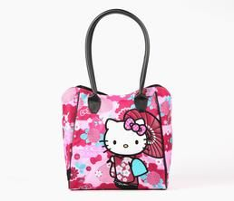 Hello Kitty Shoulder Tote Bag: Kimono