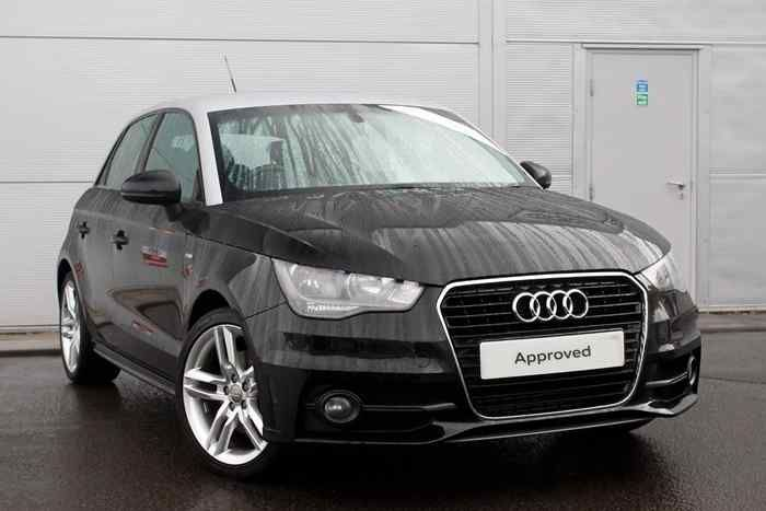 Mythos Black Metallic Audi A1 Sportback Car Used Audi Audi A1