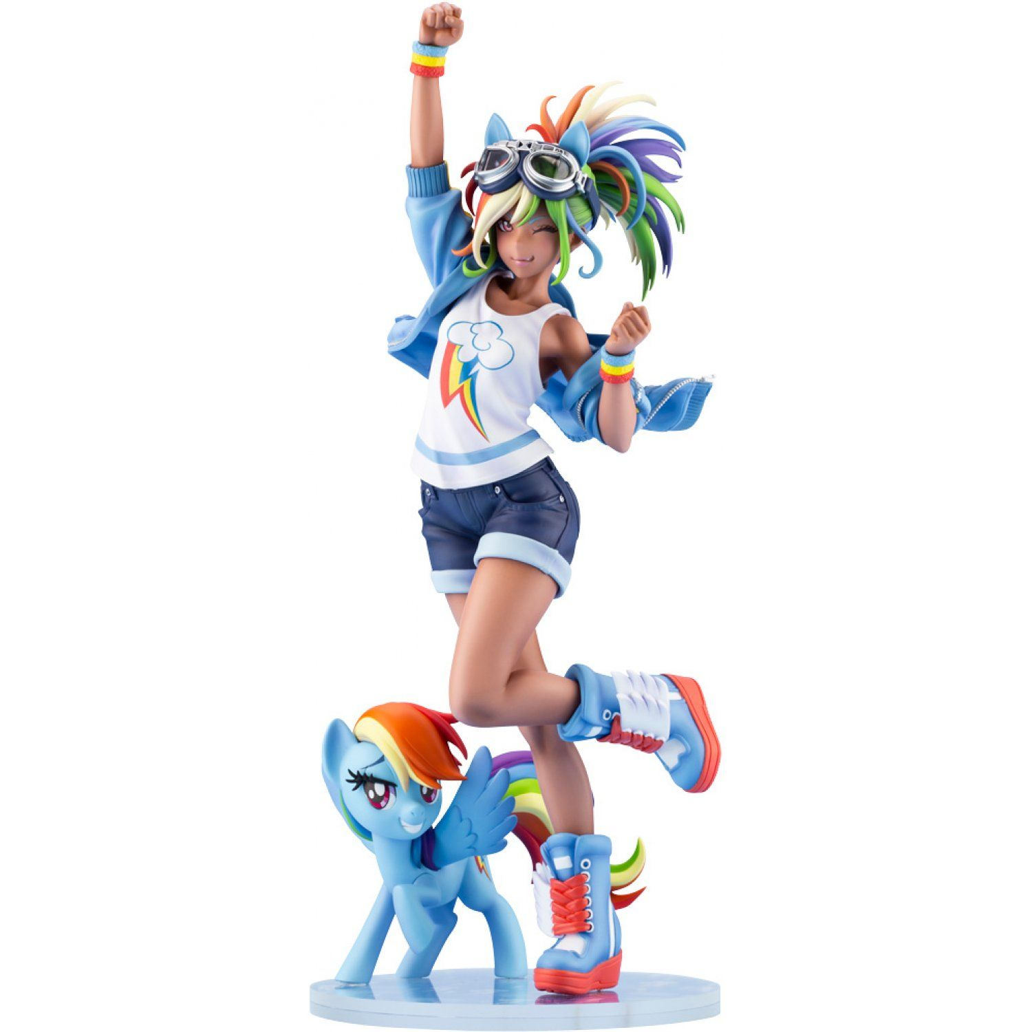 My Little Pony Bishoujo 1 7 Scale Pre Painted Figure Rainbow Dash