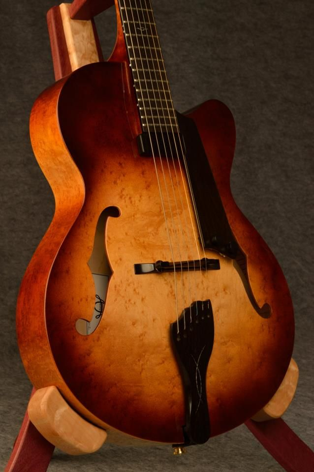 American Archtop Guitars Handmade Archtop by Dale & Tyler Unger