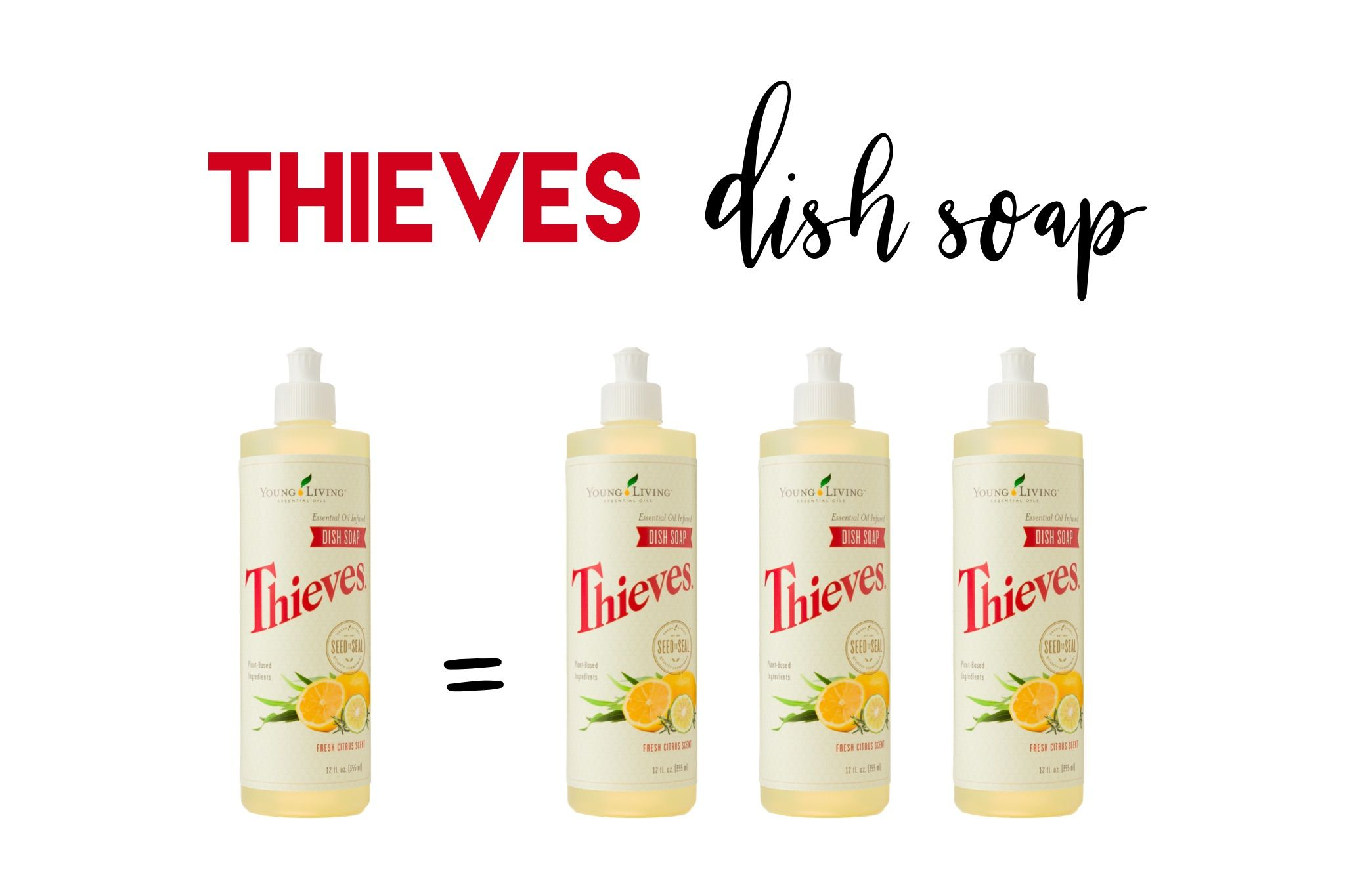 How To Triple Your Thieves Dish Soap! Essential oils