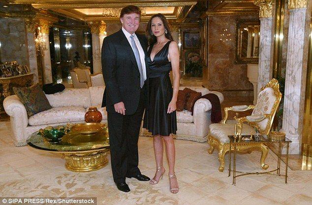 Trump Dining Room Television