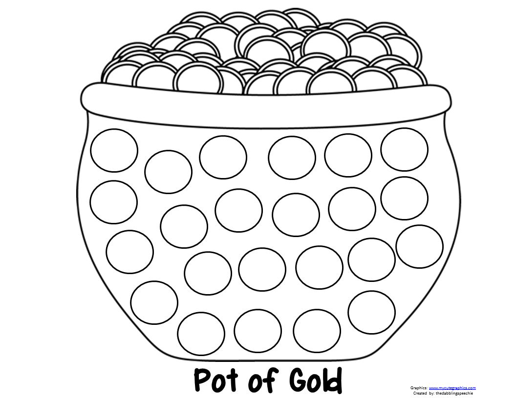 Pot Of Gold Dot Marker