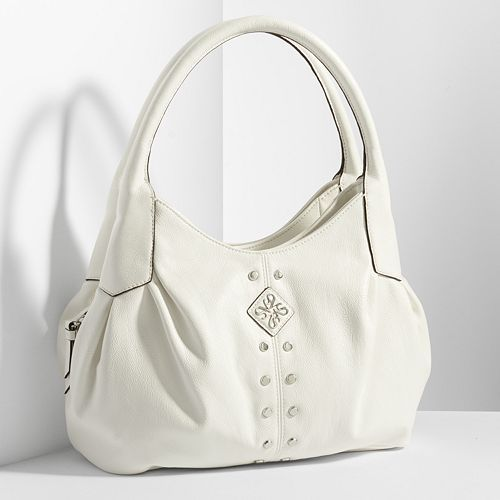 Simply Vera Vera Wang Ruched Triple-Entry Hobo  # hubobags http://couponcodezone.com/stores/kohls/